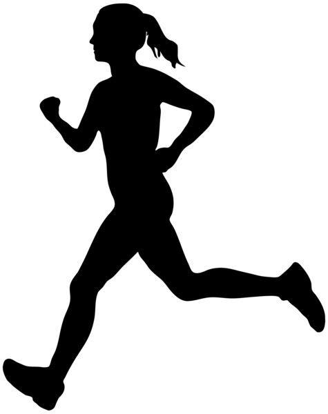 Running_Woman_Silhouette_PNG_Clip_Art_Image